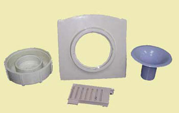 Parts from Home Appliance Injection Molds
