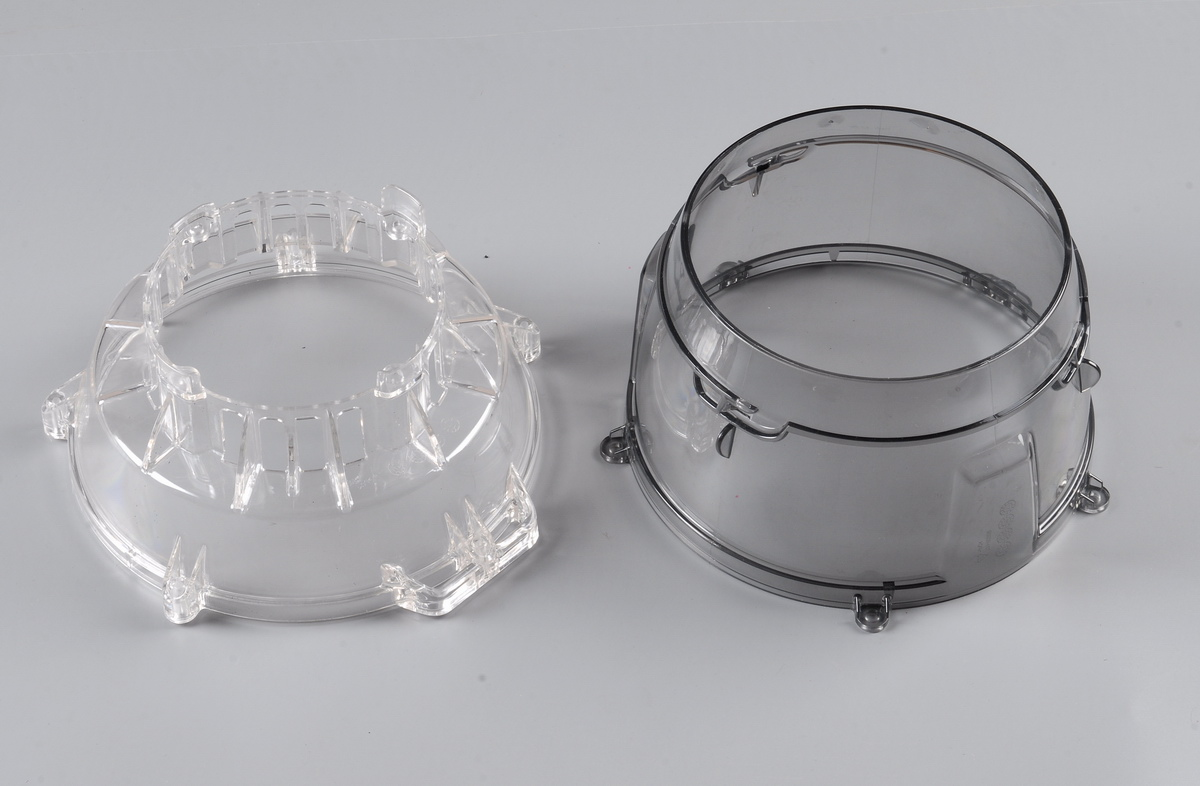 Clear Parts from Lawn Mover Injection Molds